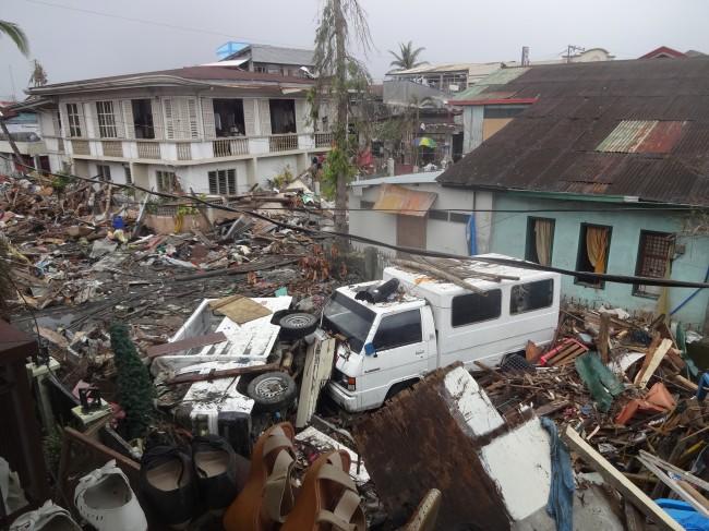 2013년 11월, 태풍 하이옌(필리핀 지역명